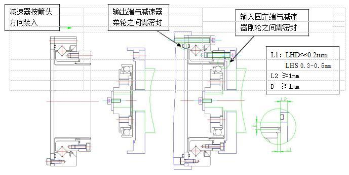 苏州绿的谐波减速机安装说明